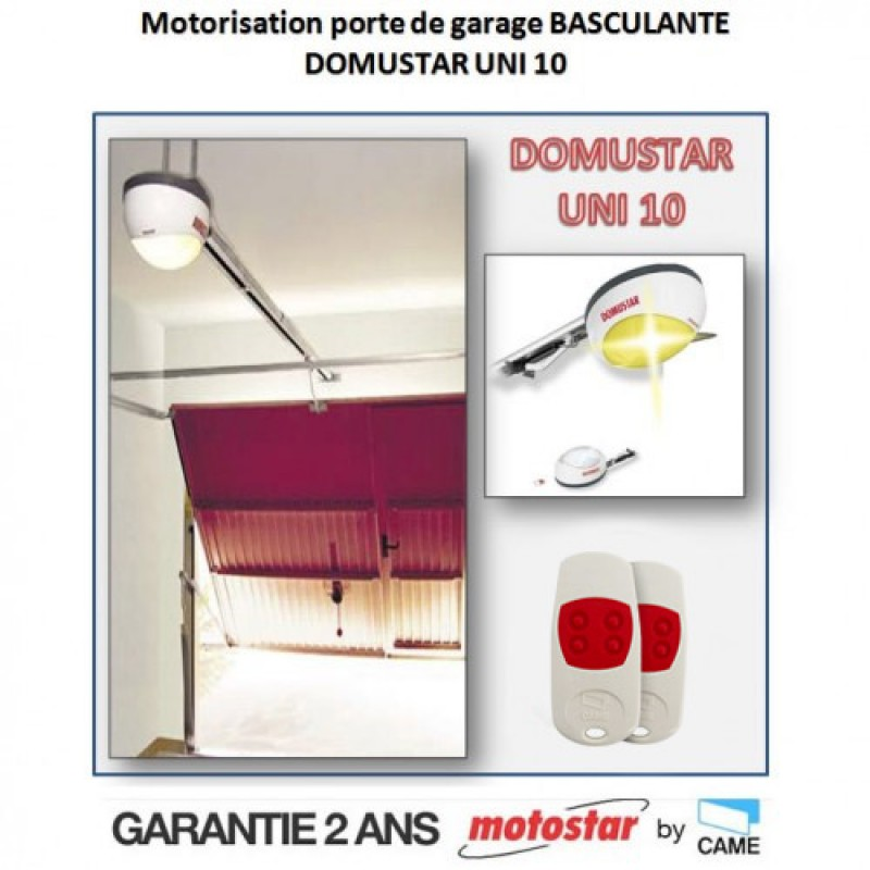 motorisation porte de garage basculante motostar by camedomustar uni 10 t l commandeonline. Black Bedroom Furniture Sets. Home Design Ideas